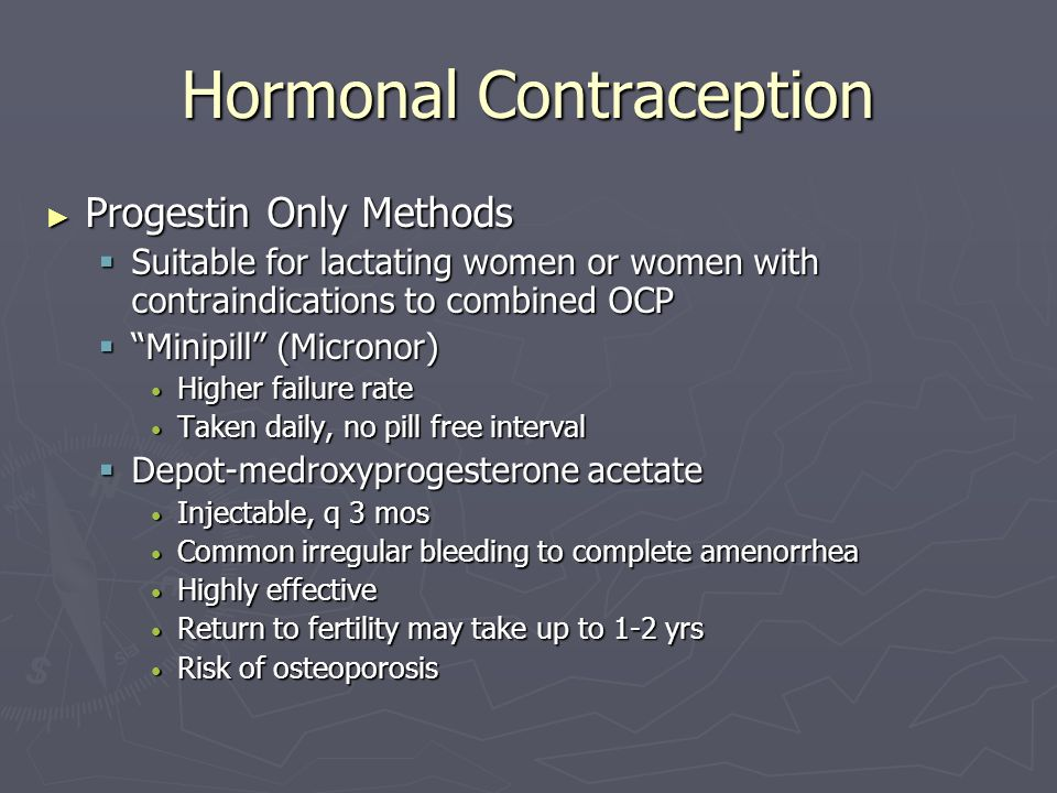 Hormonal Contraception