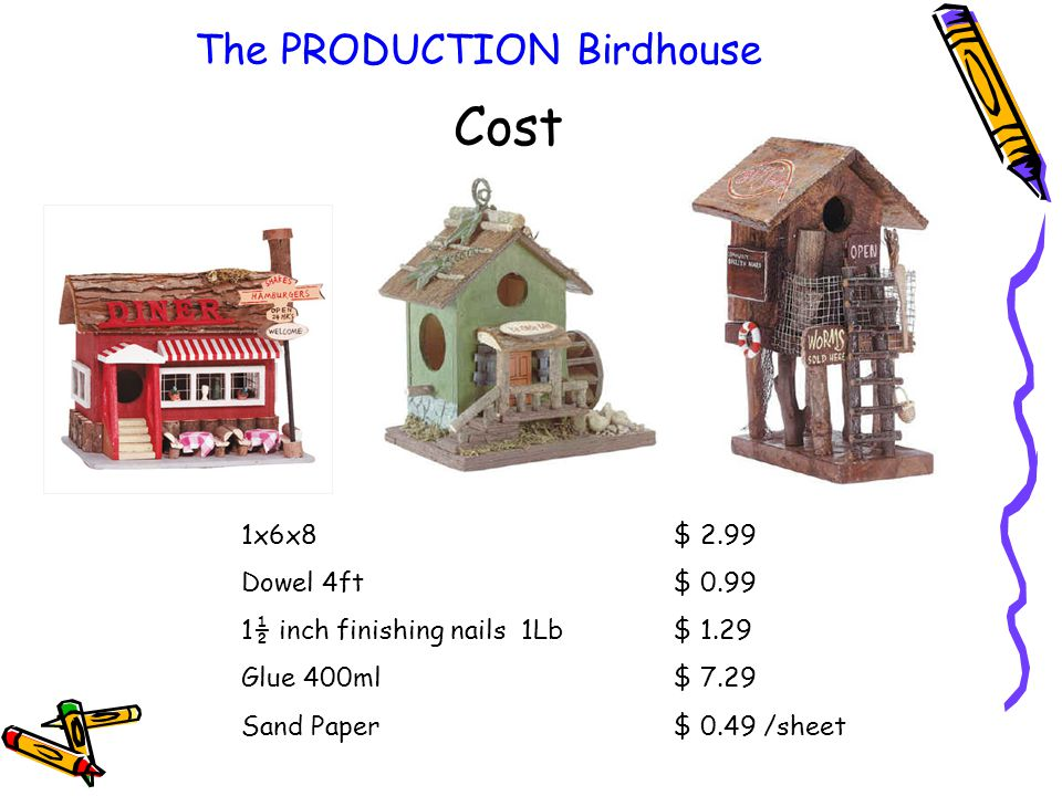 The PRODUCTION Birdhouse