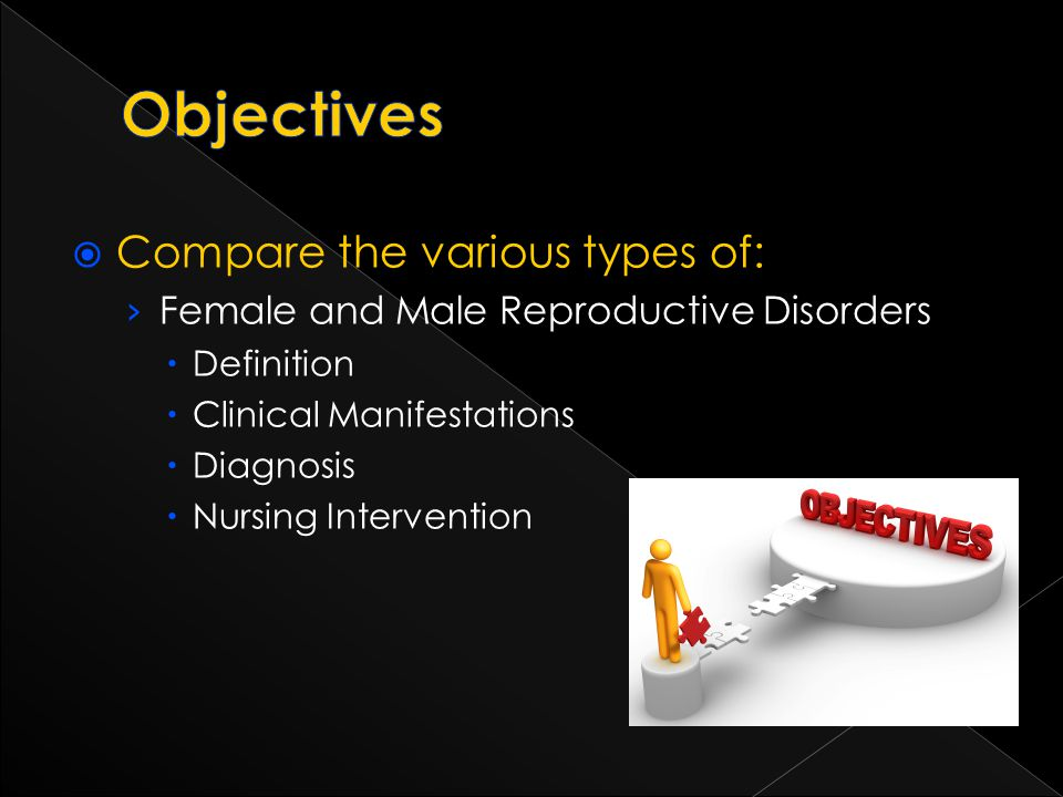 Objectives Compare the various types of: