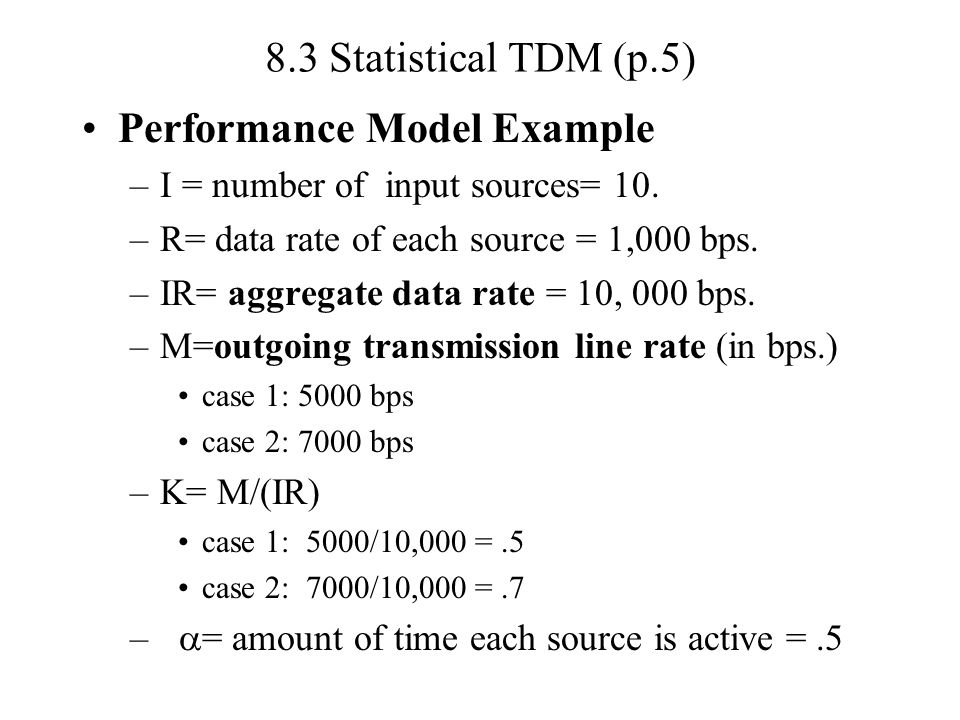 Performance Model Example