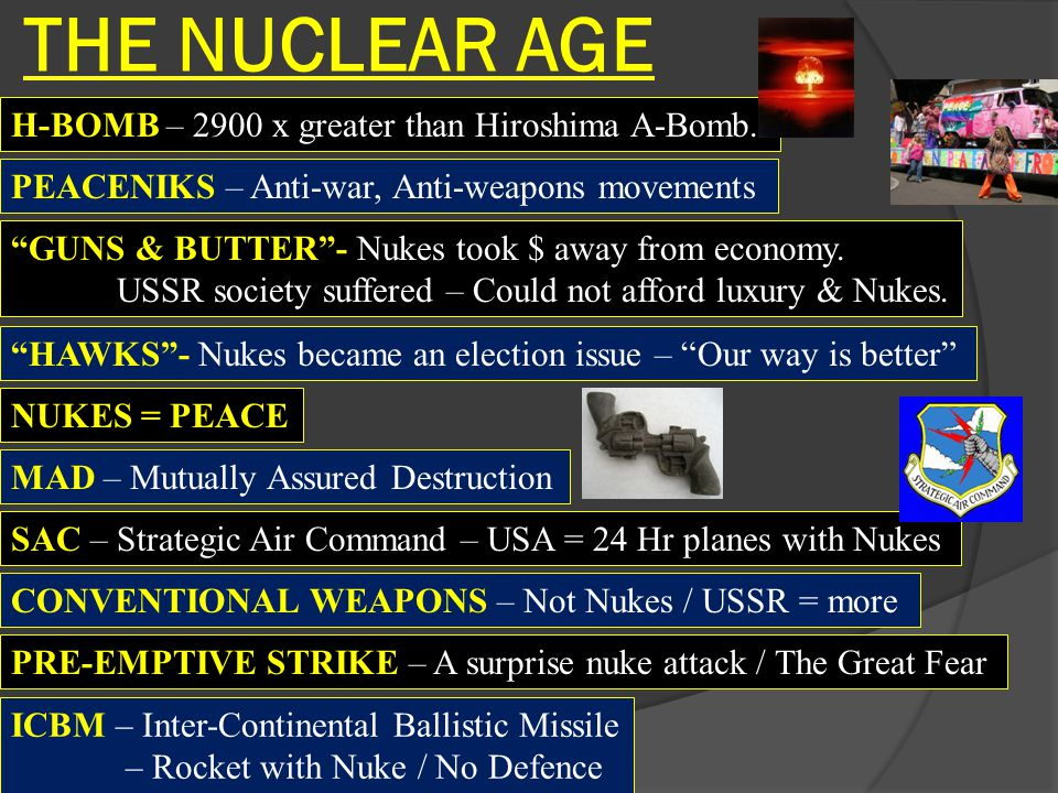 THE NUCLEAR AGE H-BOMB – 2900 x greater than Hiroshima A-Bomb.
