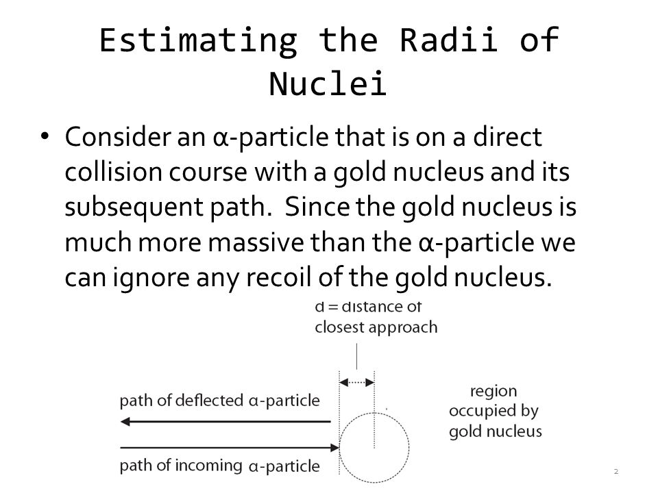 Estimating the Radii of Nuclei