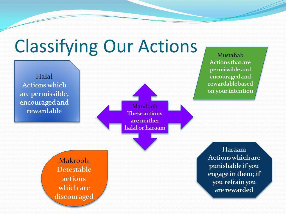 Classifying Our Actions