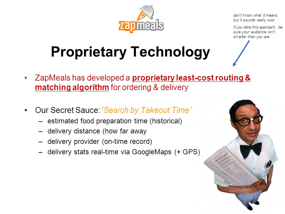 Proprietary Technology