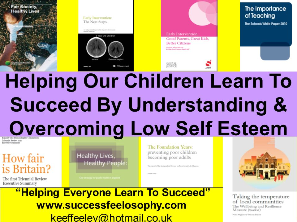 Helping Everyone Learn To Succeed www.successfeelosophy.com