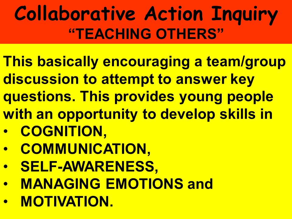 Collaborative Action Inquiry