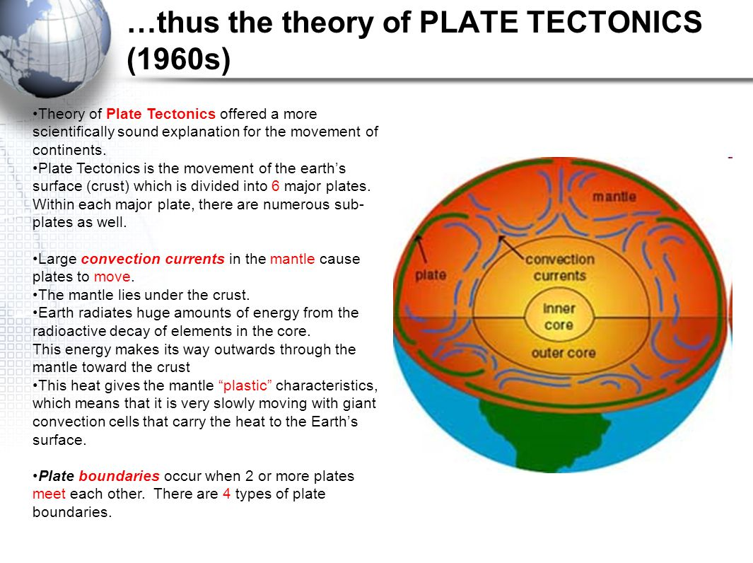 plate tectonics continental drift theory theory of plate