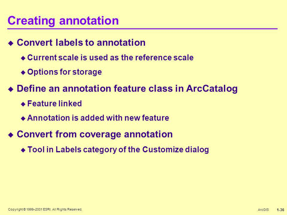 Creating annotation Convert labels to annotation
