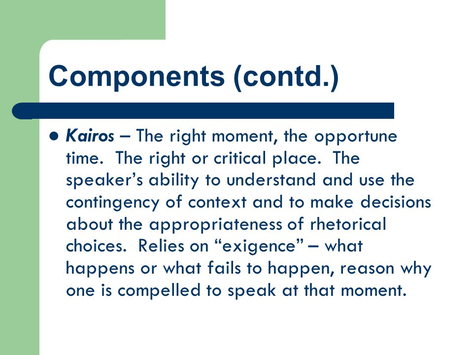 Components (contd.)