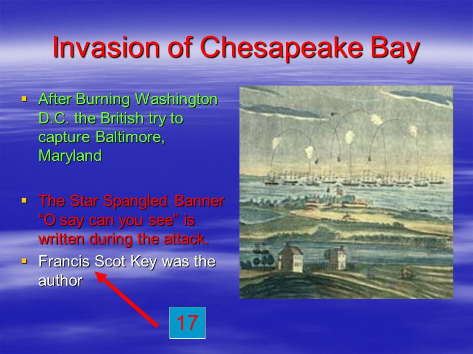 Invasion of Chesapeake Bay