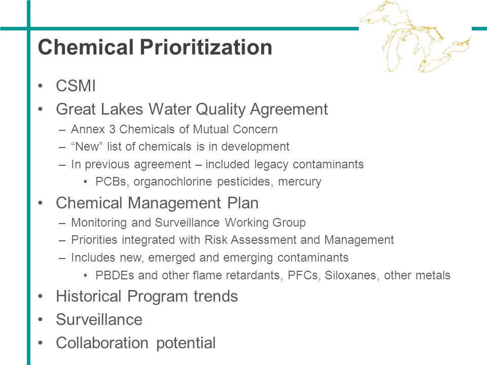 Chemical Prioritization