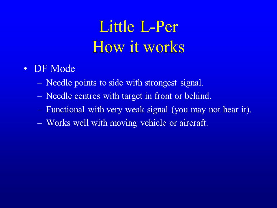 Little L-Per How it works