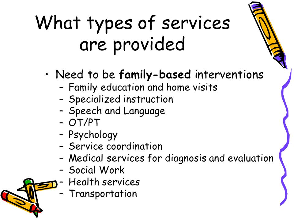 What types of services are provided