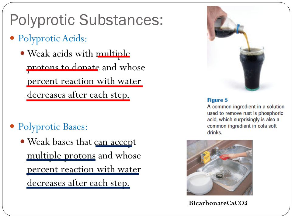 Polyprotic Substances: