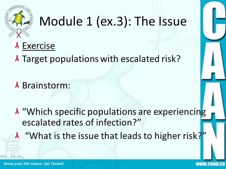 Module 1 (ex.3): The Issue Exercise
