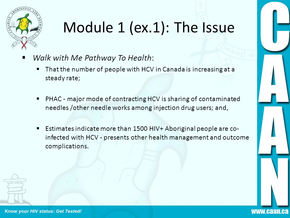 Module 1 (ex.1): The Issue Walk with Me Pathway To Health: