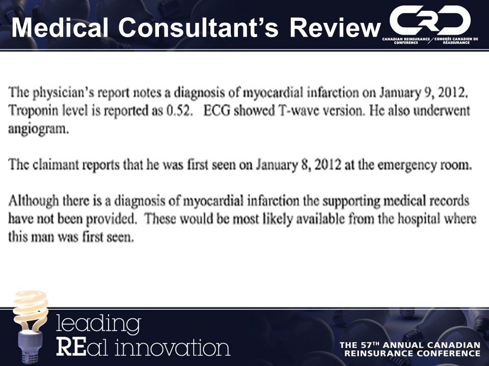 Medical Consultant's Review