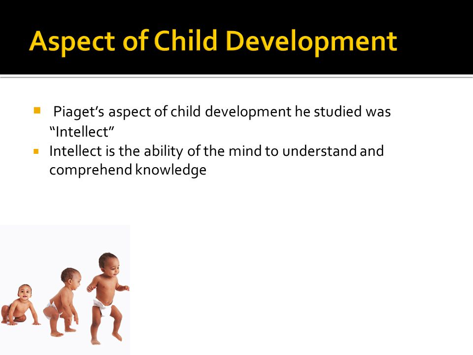 Aspect of Child Development