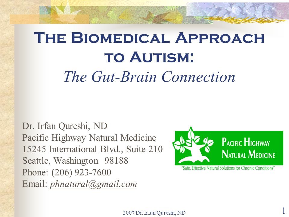 The Biomedical Approach to Autism: The Gut-Brain Connection