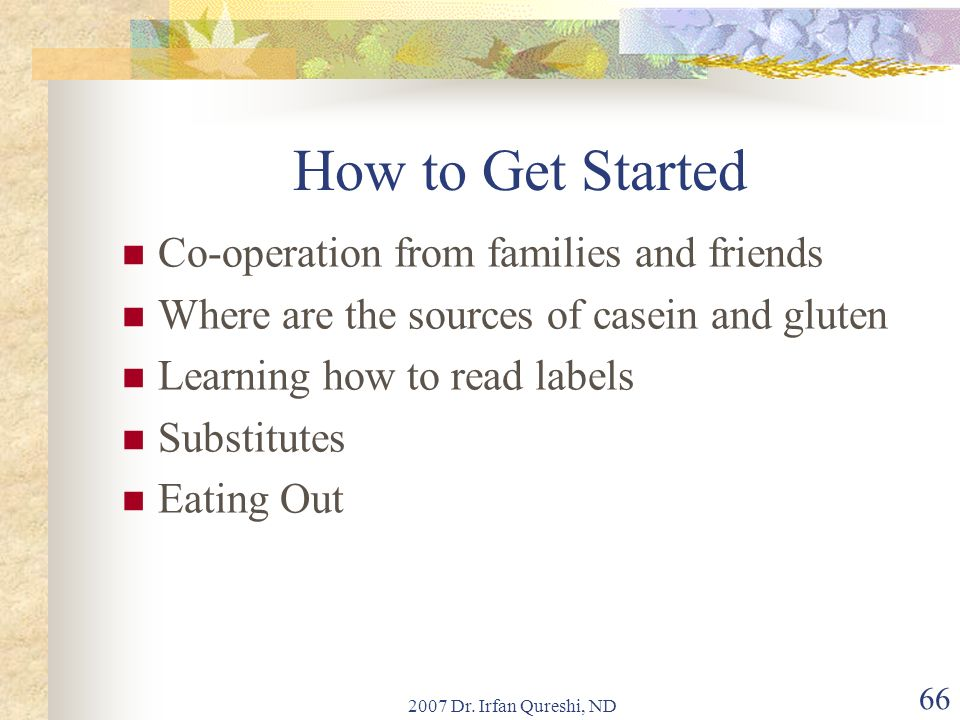 How to Get Started Co-operation from families and friends