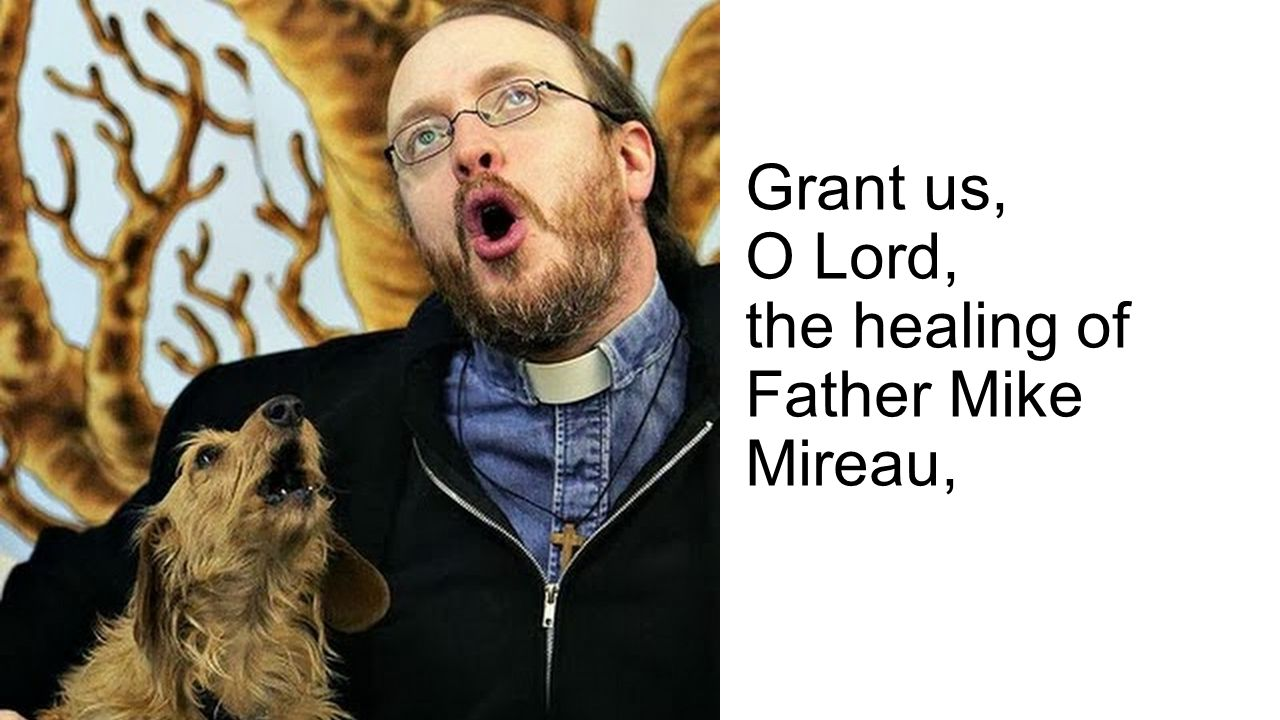 Grant us, O Lord, the healing of Father Mike Mireau,