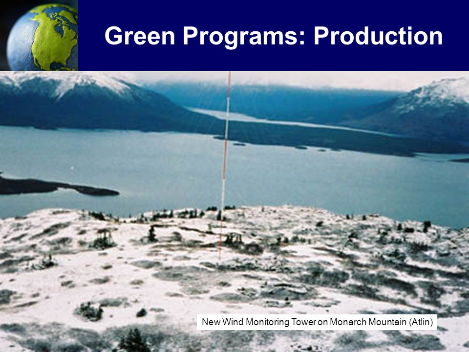 Green Programs: Production