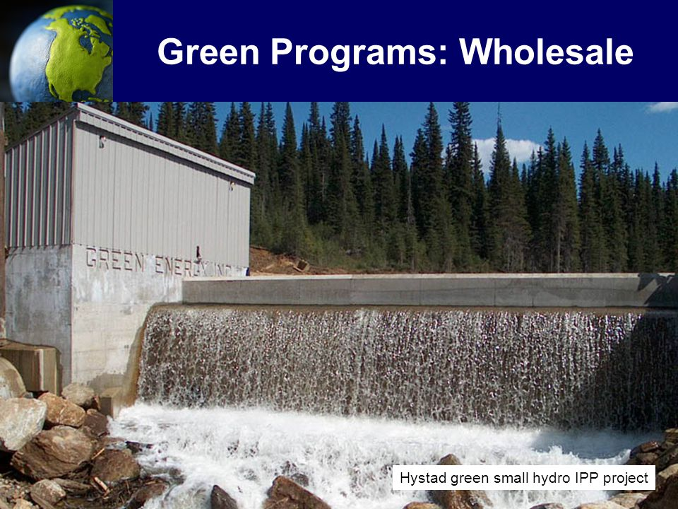 Green Programs: Wholesale