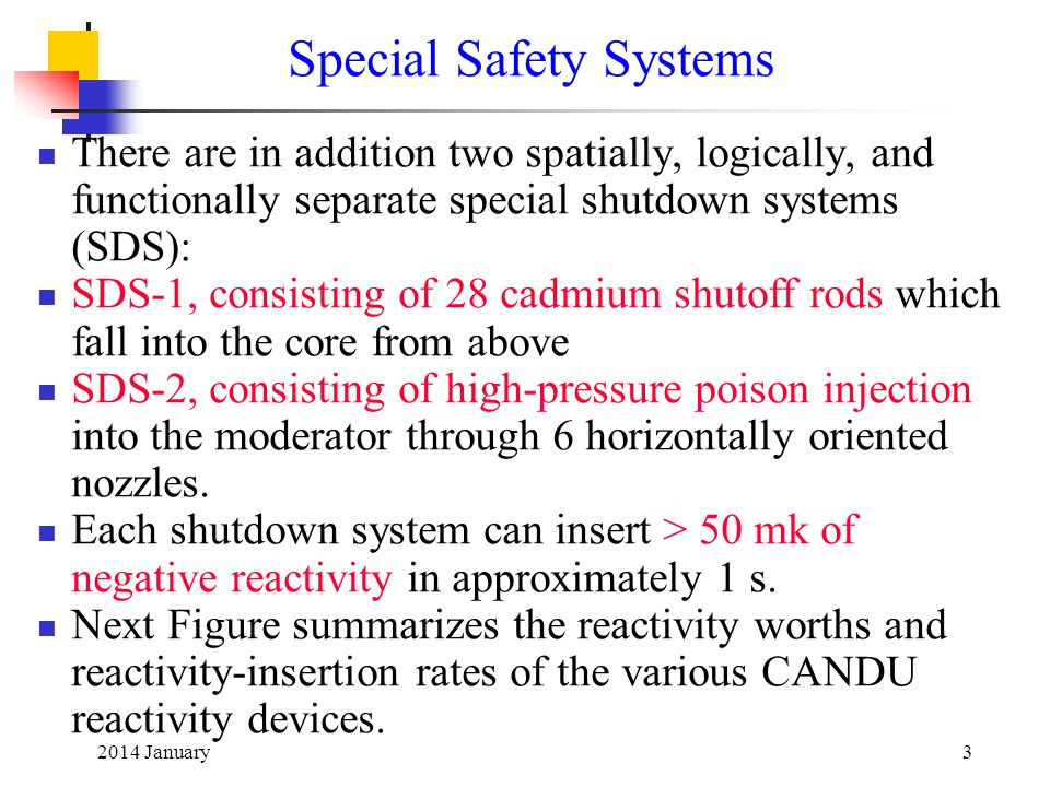 Special Safety Systems