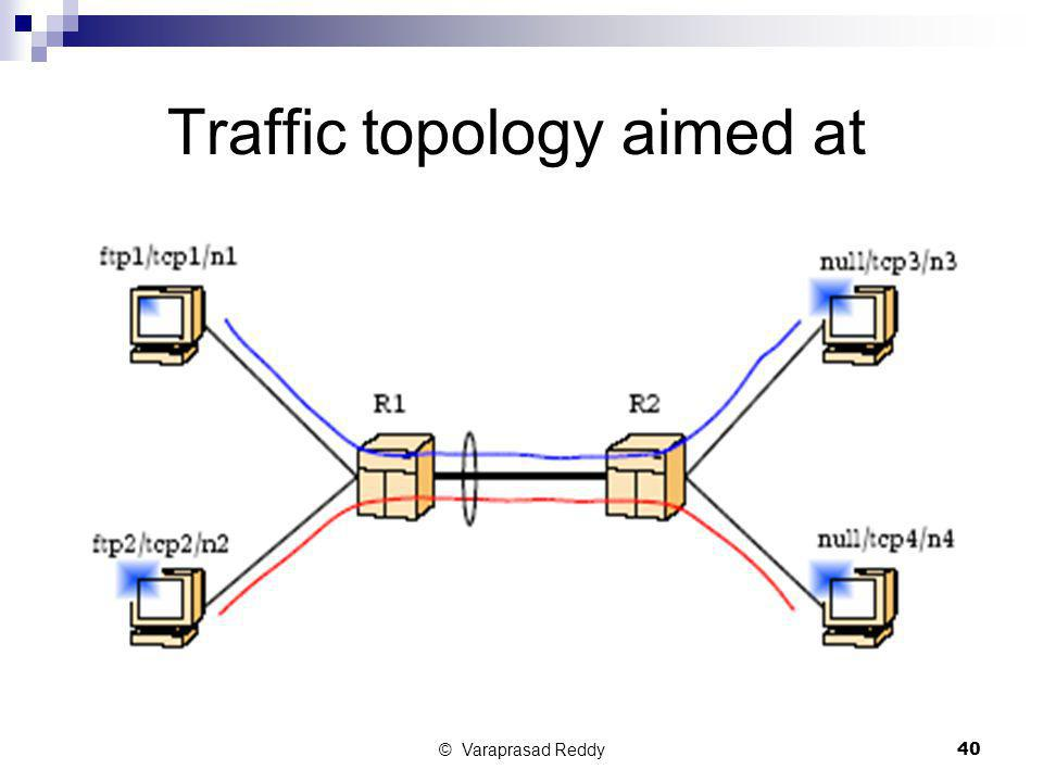 Traffic topology aimed at