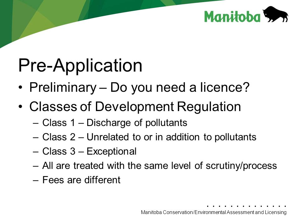 Environment Act Licence Update - ppt download