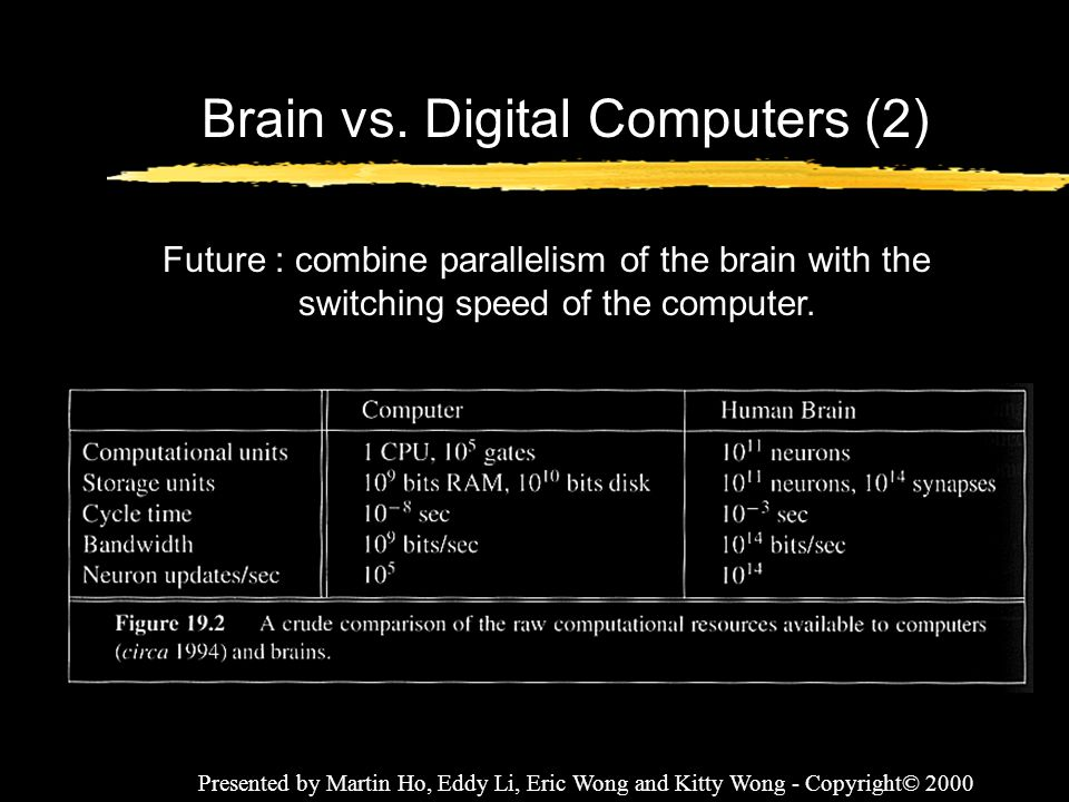 Brain vs. Digital Computers (2)