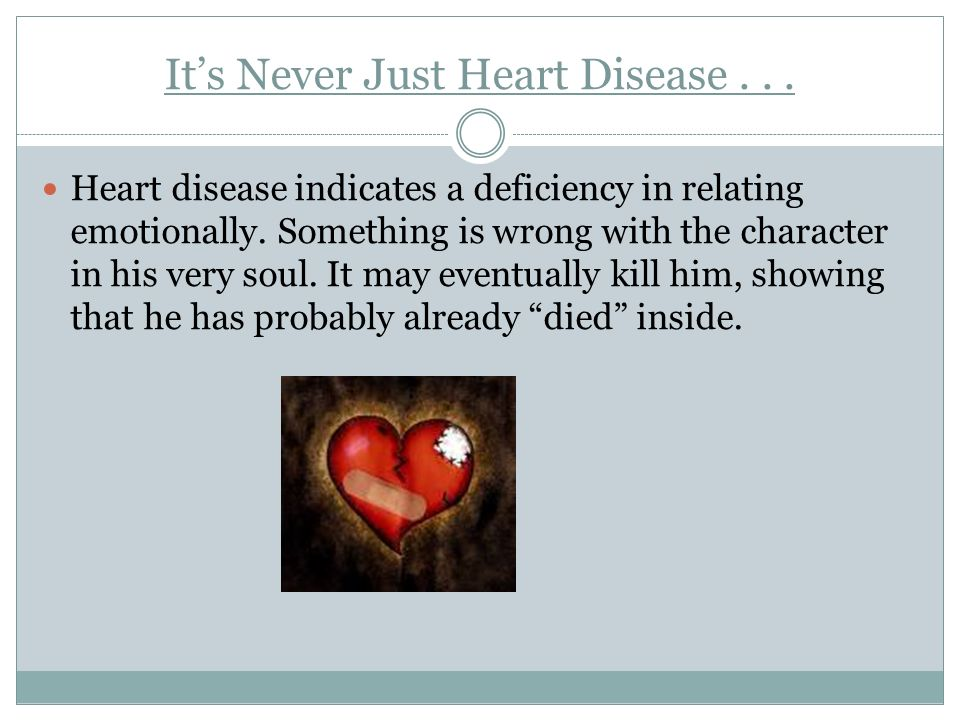 It's Never Just Heart Disease . . .