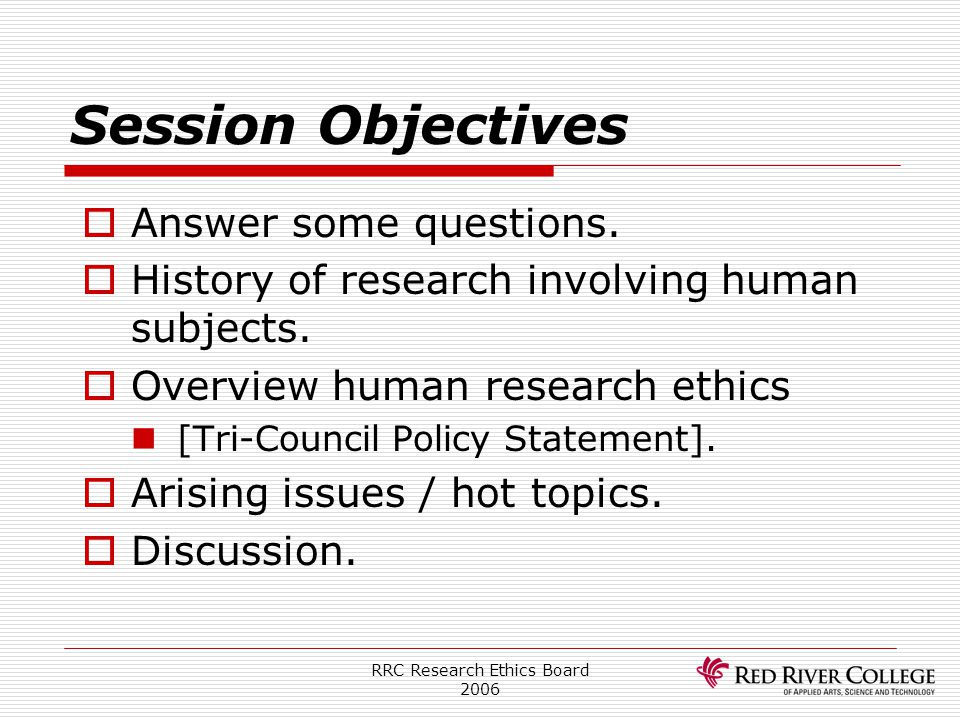 RRC Research Ethics Board