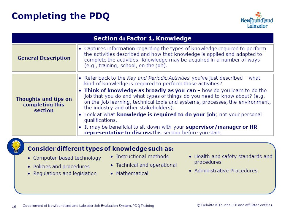 Completing the PDQ Section 5: Factor 2, Interpersonal Skills