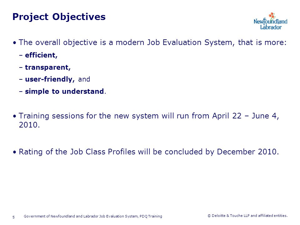 Job Evaluation Project