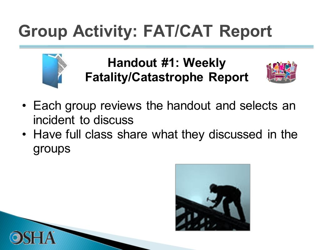 Group Activity: FAT/CAT Report