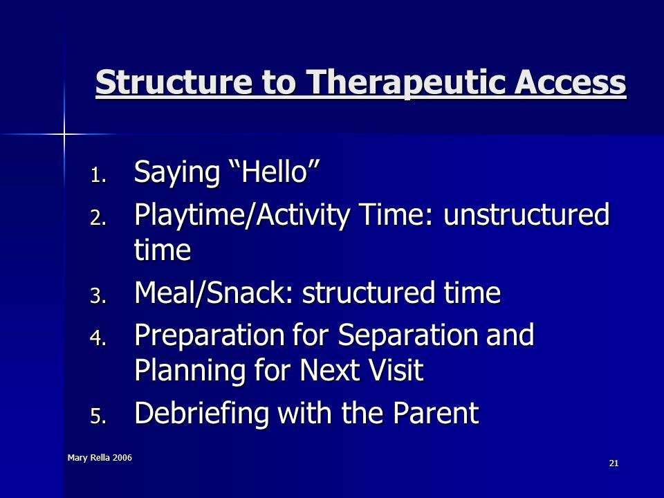 Structure to Therapeutic Access