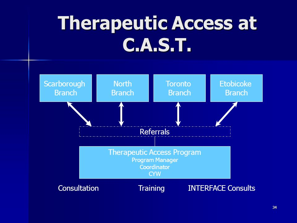 Therapeutic Access at C.A.S.T.