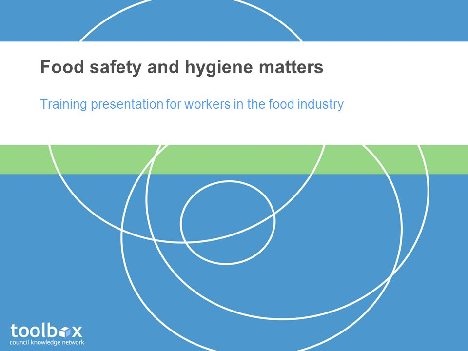 Food safety and hygiene matters