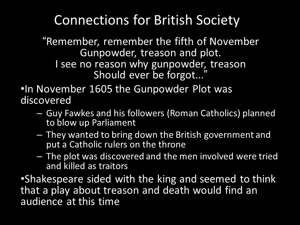 Connections for British Society