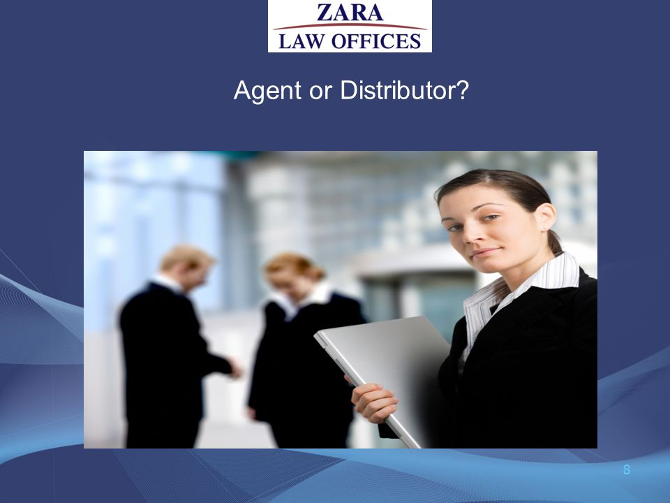 Agent or Distributor