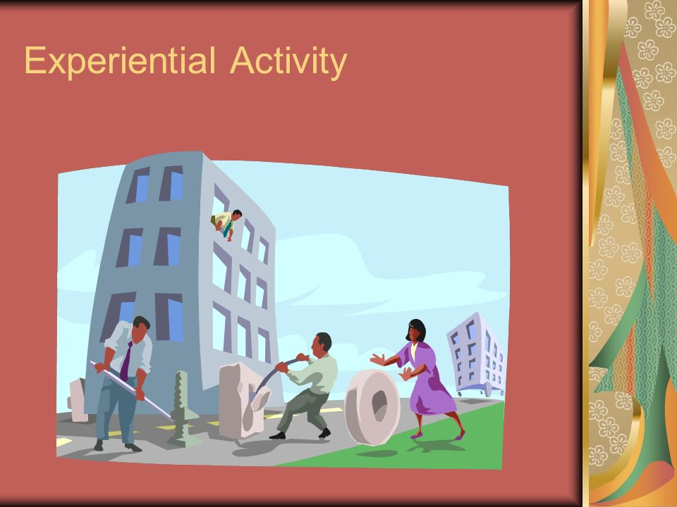 Experiential Activity