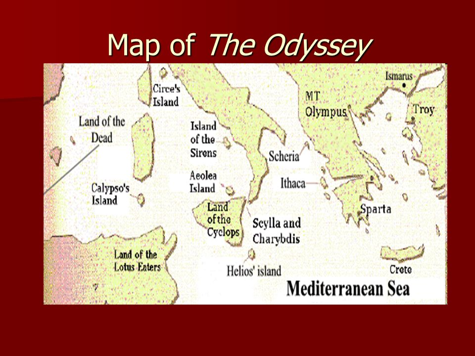 The Odyssey By: Homer Robert Fitzgerald Translation - ppt ... on the sirens odysseus, map of ithaca greece, map of ithaca island, map of ulysses journey,