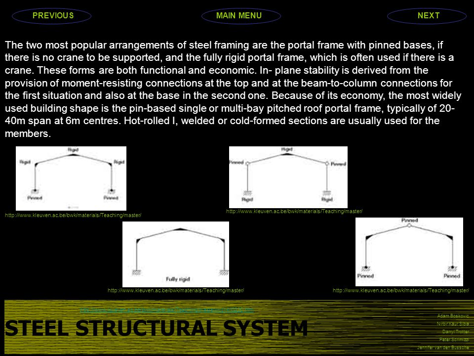 STEEL STRUCTURAL SYSTEM