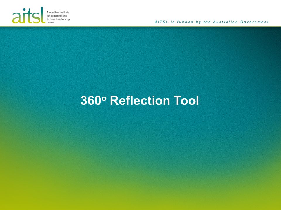 360o Reflection Tool