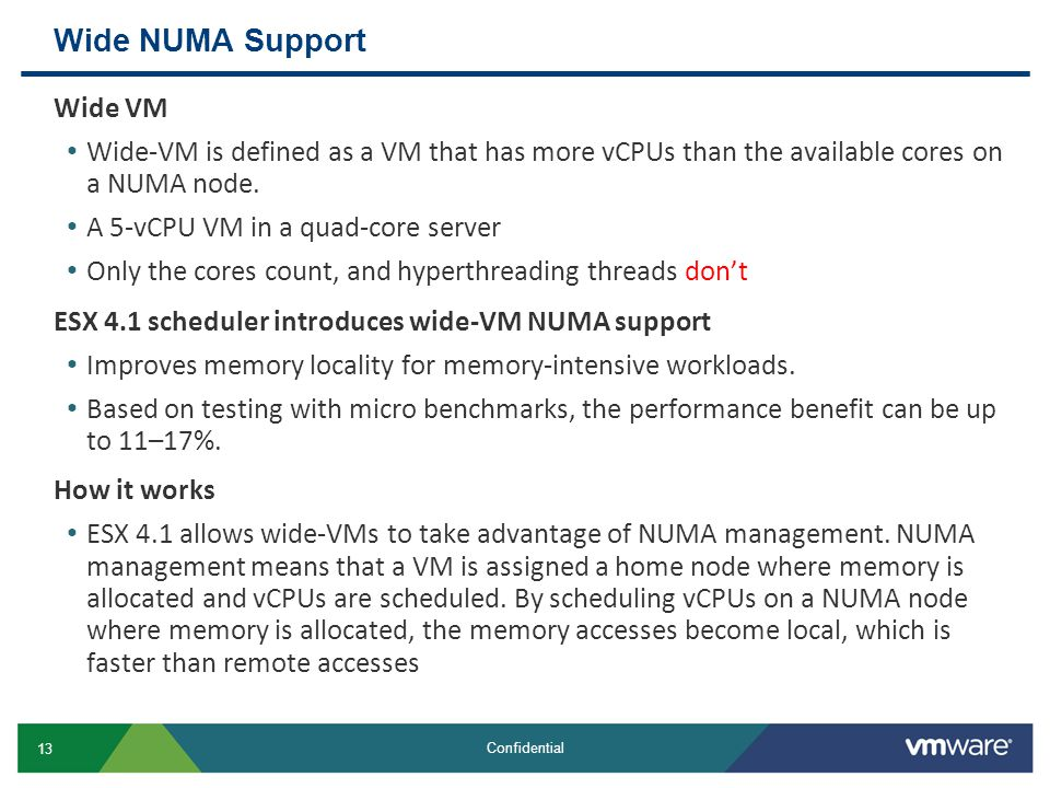 Wide NUMA Support Wide VM