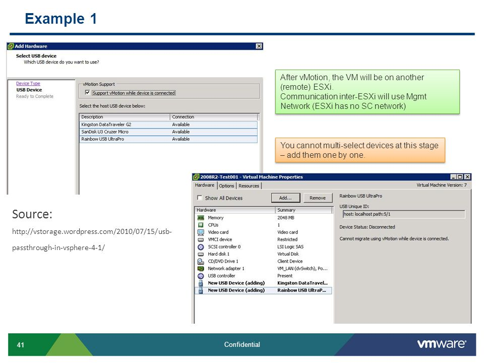 vSphere 4 1: Delta to 4 0 Tech Sharing for Partners - ppt