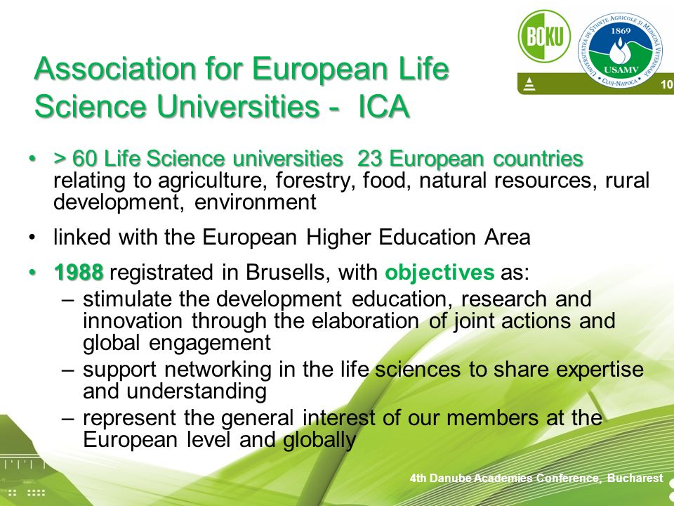 Association for European Life Science Universities - ICA