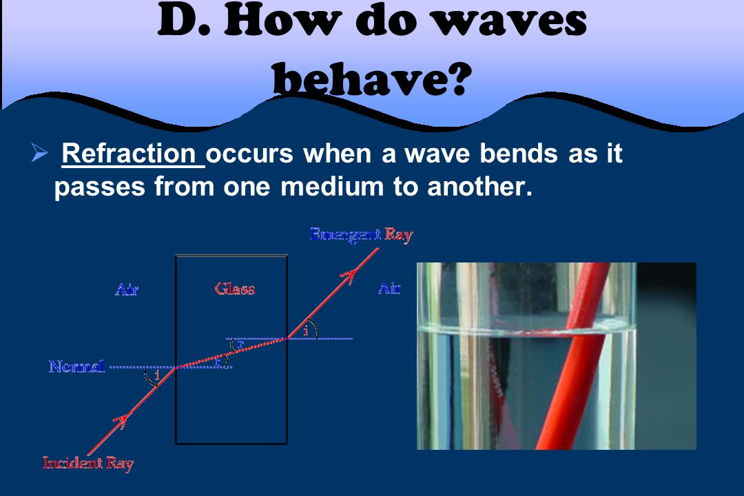 D. How do waves behave.