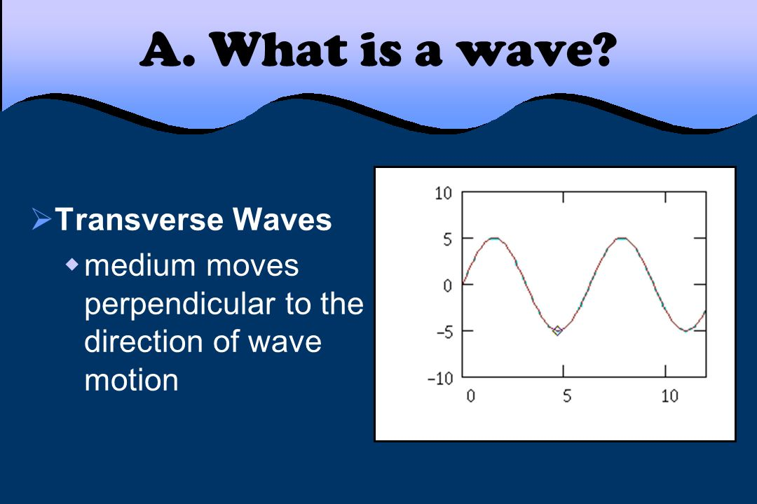 A. What is a wave Transverse Waves